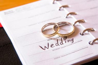Quanto tempo occorre per organizzare un matrimonio?